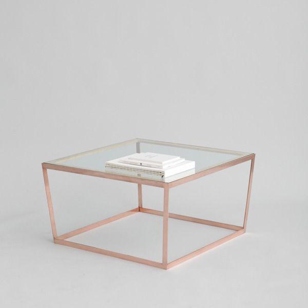The Minimalist x Iacoli & Mcallister copper table
