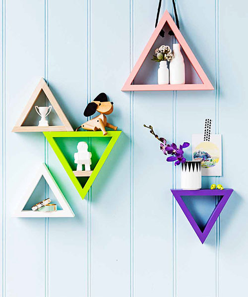 The Minimalist x Real Living styled by Erin Michael February 2013 Seventy Tree triangles tape