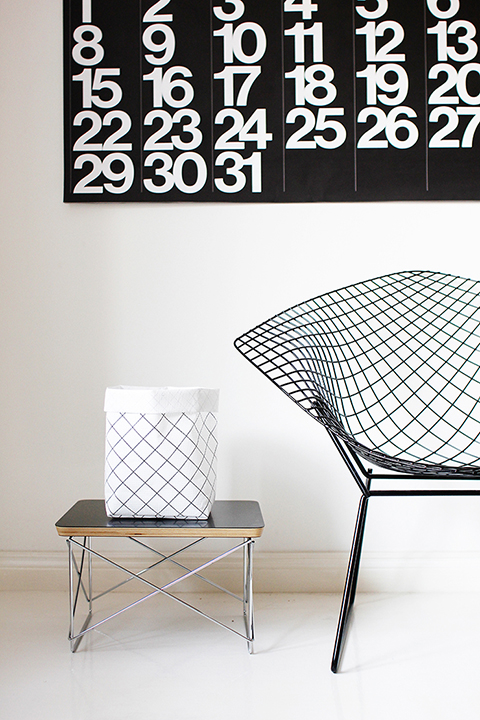 The Minimalist Blog x Ruutu storage sack by Varpunen