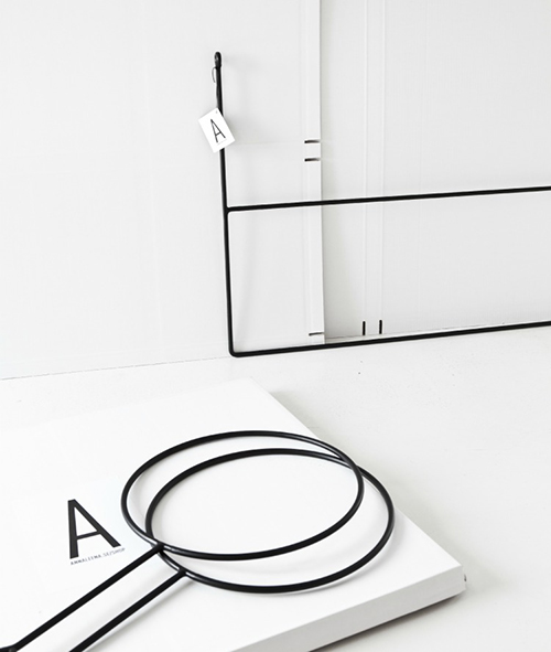 The Minimalist x Annaleena hand forged rails