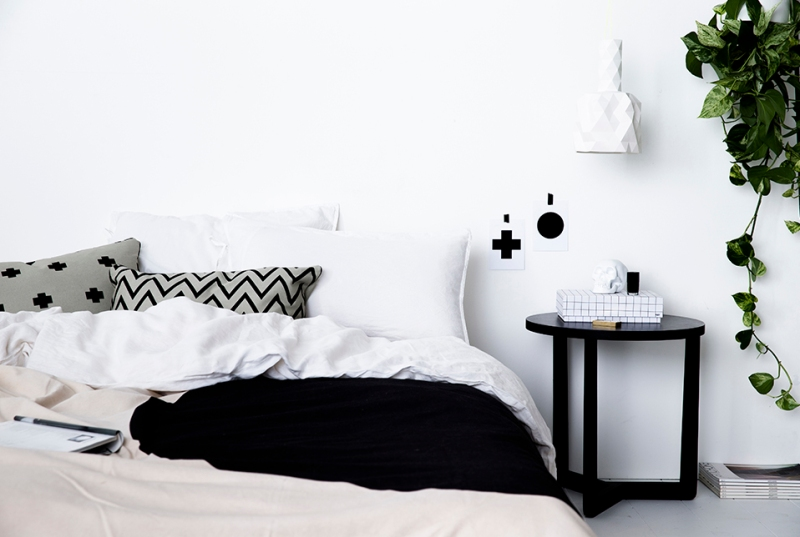 The Minimalist x Bedroom collection