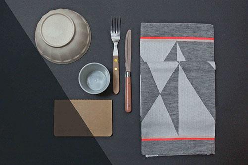 The Minimalist x Fest tea towel by Mae Engelgeer