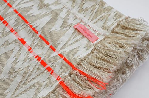 The Minimalist x Mae Engelgeer Ish collection Mint ish throw blanket