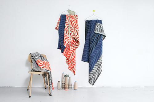 The Minimalist x Mae Engelgeer Woww collection blankets 1