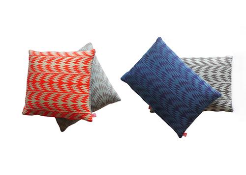 The Minimalist x Mae Engelgeer Woww collection cushions