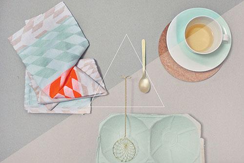 The Minimalist x Woww tea towel by Mae Engelgeer