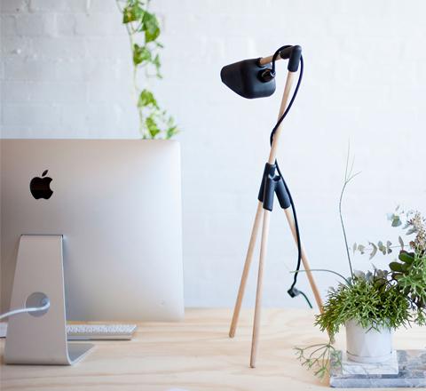 The Minimalist x Mr Dowel Jones x Desk lamp x styled