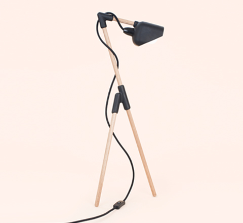 The Minimalist x Mr Dowel Jones x Floor lamp