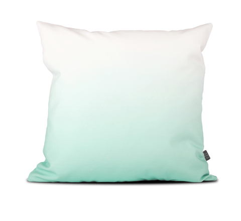 The Minimalist x How are you mint gradient 50 x 50 cushion cover