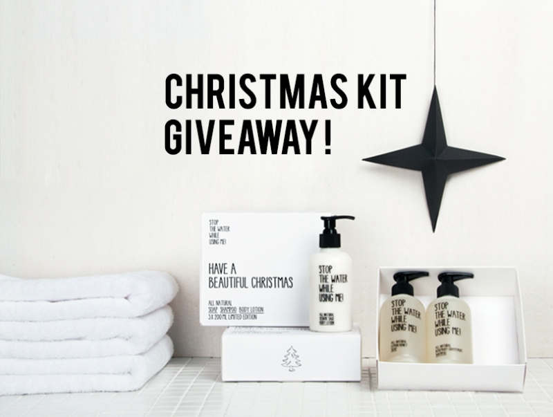 The Minimalist Christmas kit giveaway http://woobox.com/54774p