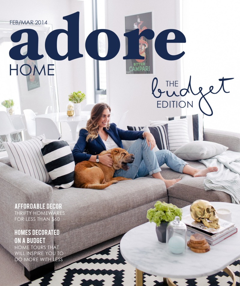 The Minimalist Home x Adore Home magazine